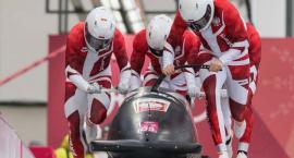 Łukasz Miedzik z Grupy wraz z kolegami osiągnęli najlepszy wynik w historii startów polskich bobslei w igrzyskach