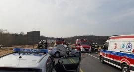 PILNE: Wypadek na obwodnicy Świecia. Jedna osoba trafiła do szpitala