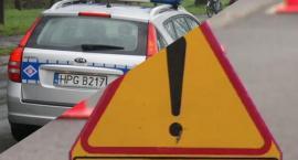 Wypadek w Luszkowie. Na krajowej piątce zderzyły się trzy pojazdy