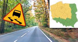 Trudne warunki na drogach jeszcze do jutra rana. IMGW ostrzega mieszkańców powiatu świeckiego