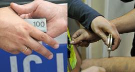 Świecie, 28-latek poszukiwany listem gończym próbował uniknąć aresztowania. Ile chciał za to zapłacić?