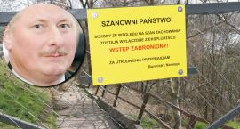 Schody na planty w Nowem zamknięte. Burmistrz tłumaczy dlaczego nie zrobił remontu, ale czy przekonuje?