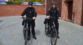 Straż Miejska w Świeciu przesiada się na rowery
