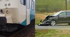 Wypadek na przejeździe w Świekatowie. Obyło się bez ofiar śmiertelnych, bo pociąg już wcześniej zaczął zwalniać. Dlaczego?