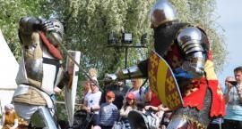 Piknik na zamku - walki rycerzy przyciągnęły sporą publiczność [ZDJĘCIA]