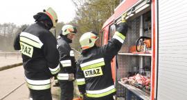 Pożar w Gajewie. Komendant OSP: Myślałem o tym, że jakiś strażak dokonuje podpaleń