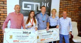 Kamila Słomska i Sebastian Bąk nagrodzeni za brązowe medale mistrzostw Polski [ZDJĘCIA]