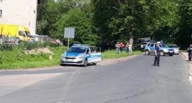 Potrącenie pieszej w Kończycach. Ranna trafiła do szpitala