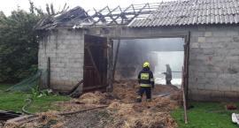 Pożar w Białem w gminie Jeżewo [ZDJĘCIA]