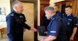 Z Bydgoszczy do Świecia. Nowy zastępca komendanta w świeckiej policji [ZDJĘCIA]