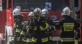 Dwa pożary w powiecie. 14 zastępów strażaków pojechało wczoraj do akcji