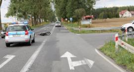Zajechała drogę motorowerzyście. 70-latek trafił do szpitala