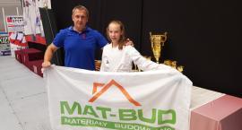 Aniela Dzedzej zdobyła srebro na zawodach karate olimpijskiego w Budapeszcie