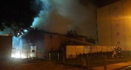 Z OSTATNIEJ CHWILI: Pożar budynku w Świeciu. Straż sprawdza czy ktoś jest w środku