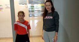 Weronika Pilarska z Kusego Laskowice grała w Grand Prix Polski żaczek