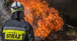 Z OSTATNIEJ CHWILI: Pali się suszarnia w stolarni. 7 zastępów straży w akcji