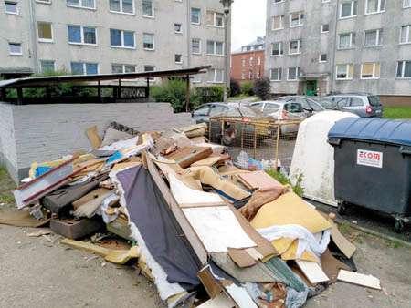 Interwencje, Miasto tonie śmieciach Mnożą szczury! - zdjęcie, fotografia