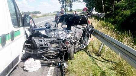 Wypadki, Karambol! Zginął letni kierowca! - zdjęcie, fotografia