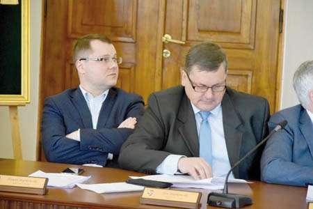 Rada Miasta, Dojna zmiana - zdjęcie, fotografia