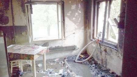 Straż pożarna , Zginęła pożarze - zdjęcie, fotografia