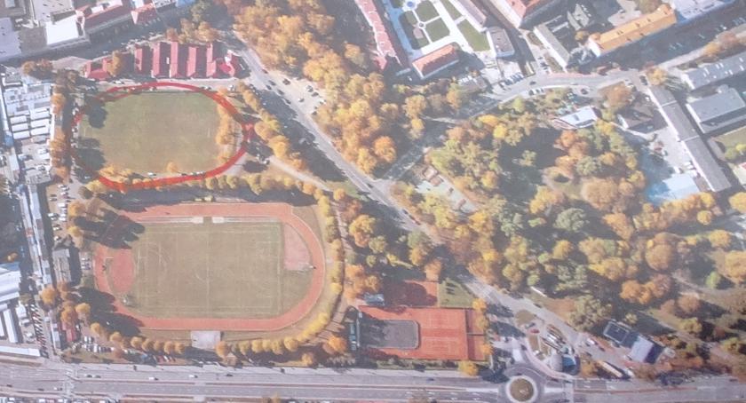 Interwencje, Osiedle stadionie - zdjęcie, fotografia