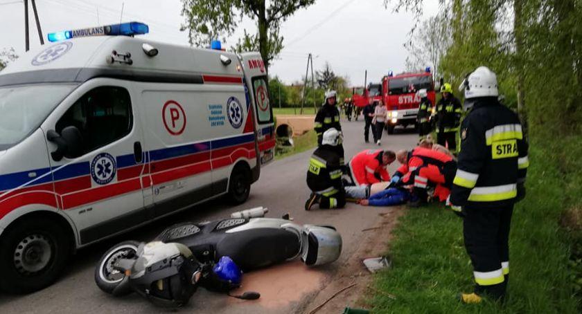 Wypadki, Tajemniczy wypadek - zdjęcie, fotografia
