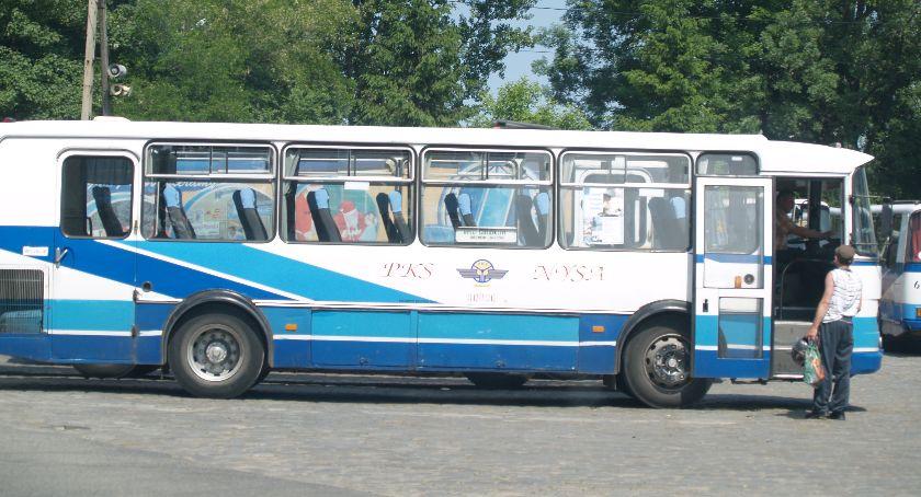 Powiat Nyski, Zamiast pociągu autobus - zdjęcie, fotografia
