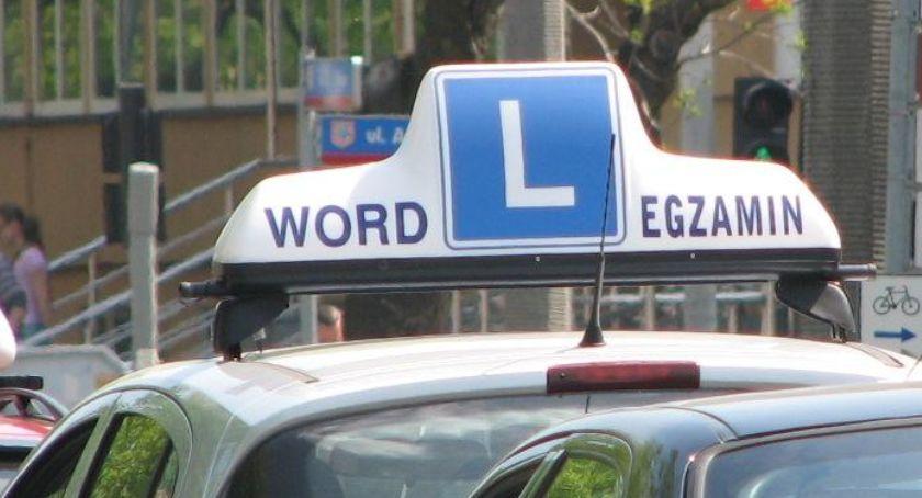 Sprawy społeczne, Zmiany egzaminie prawo jazdy - zdjęcie, fotografia