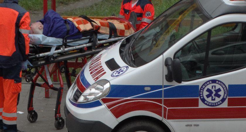 Wypadki, Wbiegł jezdnię - zdjęcie, fotografia