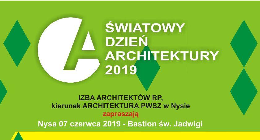 Państwowa Wyższa Szkoła Zawodowa, Światowy Dzień Architektury Nysie - zdjęcie, fotografia