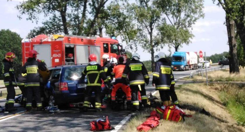 Wypadki, Wypadek śmiertelny Nysą - zdjęcie, fotografia