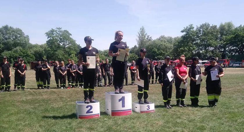Straż pożarna , Powiatowe zawody sportowo pożarnicze - zdjęcie, fotografia