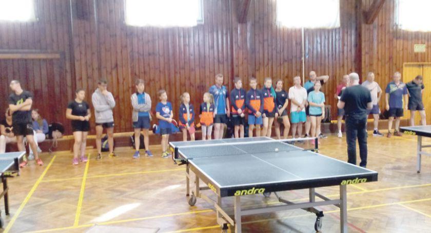 Tenis, Krzysztof wygrywa turniej - zdjęcie, fotografia