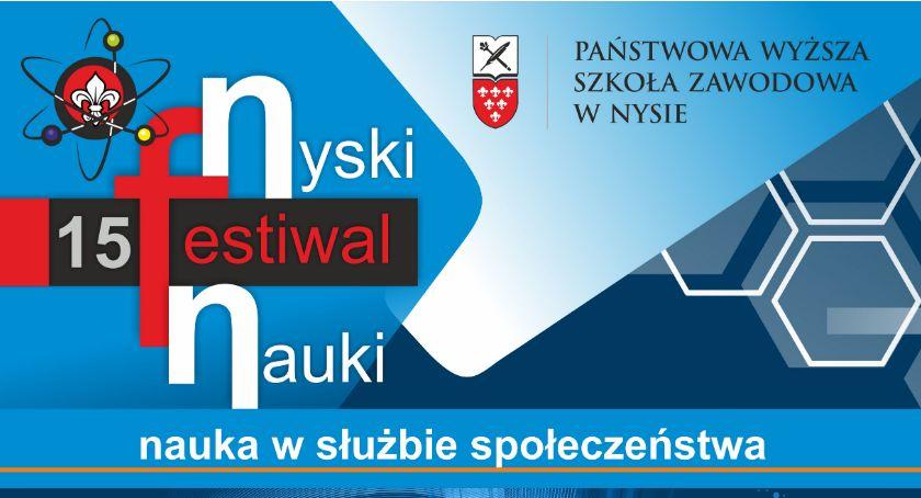 Państwowa Wyższa Szkoła Zawodowa, Nysie Jubileuszowy Nyski Festiwal Nauki - zdjęcie, fotografia