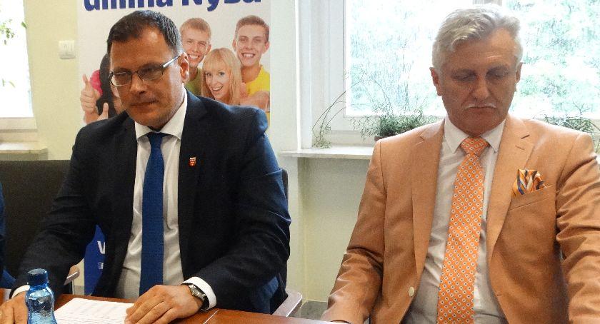Burmistrz, Kolbiarz odwołaniu Biłobrana - zdjęcie, fotografia
