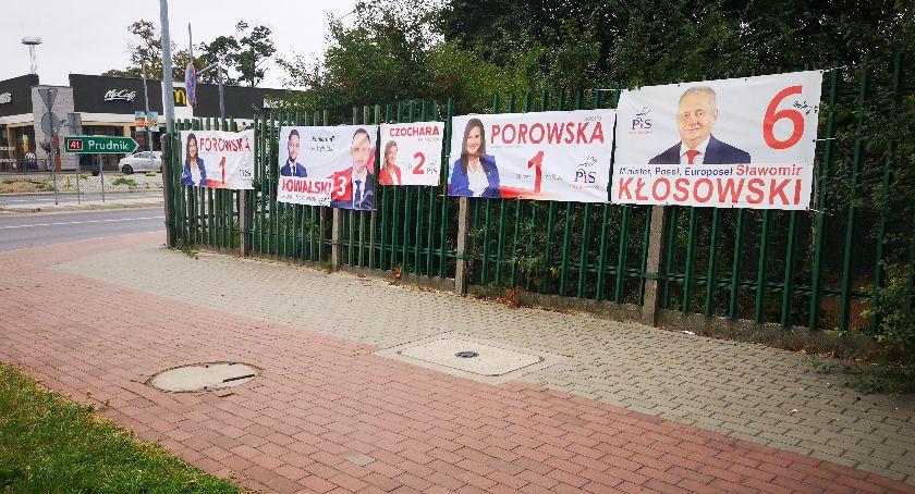 Burmistrz, Nielegalne reklamy wyborcze - zdjęcie, fotografia