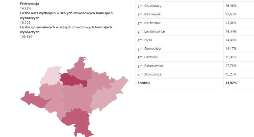 Polityka, Wybory parlamentarne frekwencja południa - zdjęcie, fotografia