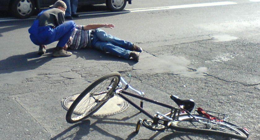 Wypadki, latek trafił szpitala - zdjęcie, fotografia