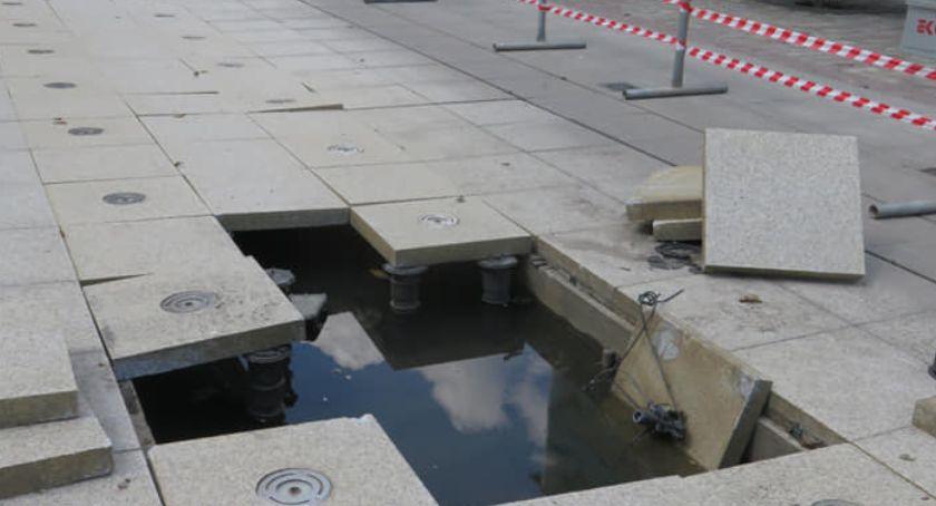 Interwencje, Kiedy naprawią fontannę - zdjęcie, fotografia
