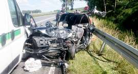 Karambol! Zginął 19-letni kierowca!