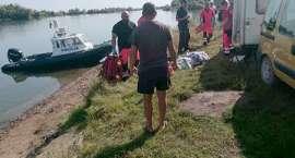 Tragedia nad jeziorem. Mąż nie żyje, żona w ciężkim stanie