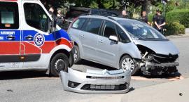 Wypadek na Chełmońskiego w Nysie