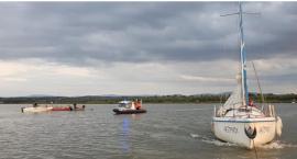 Jezioro Nyskie: Wypadł za burtę. Trwają poszukiwania