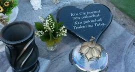 Hieny cmentarne zbezcześciły grób