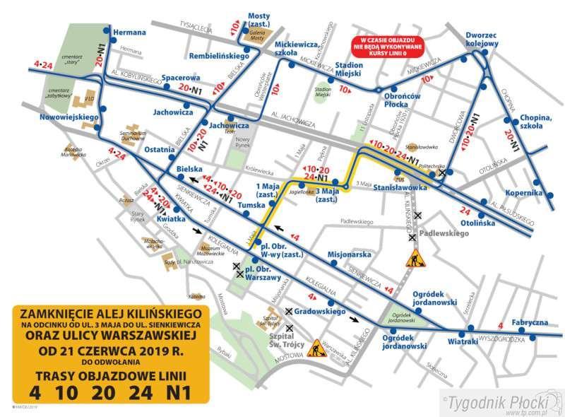 Wiadomości, Zaczyna przebudowa Kilińskiego Znamy trasy objazdów autobusów - zdjęcie, fotografia