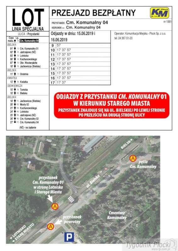 Wiadomości, lotniska Starówkę pojadą bezpłatne autobusy - zdjęcie, fotografia