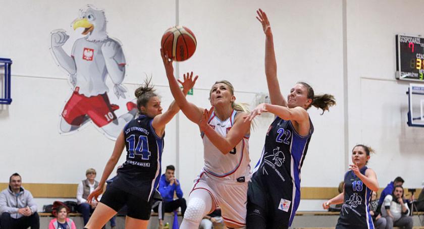 Koszykówka, Zdjęcia meczu Płock Uniwersytet Warszawski - zdjęcie, fotografia