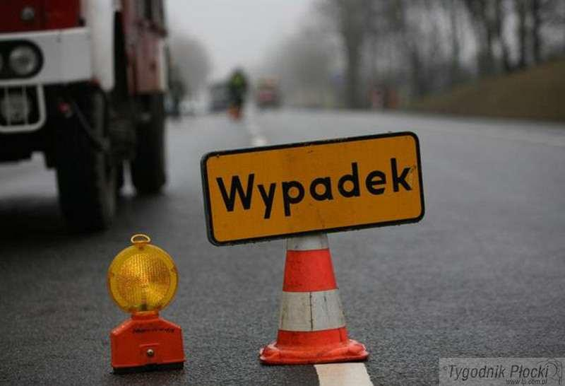 Wypadki drogowe, Wypadek Łąckiej - zdjęcie, fotografia
