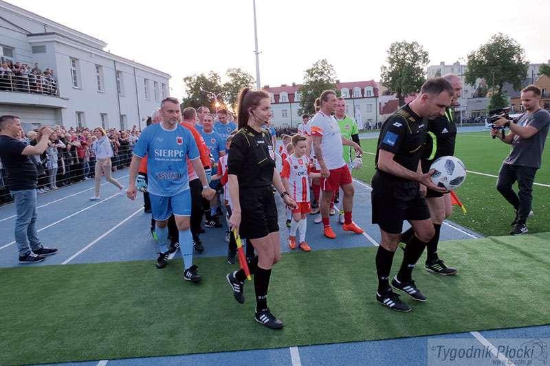 Sierpc - powiat sierpecki, Wymarzony stadion - zdjęcie, fotografia