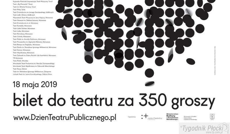 Wiadomości, świętujemy Dzień Teatru Publicznego - zdjęcie, fotografia
